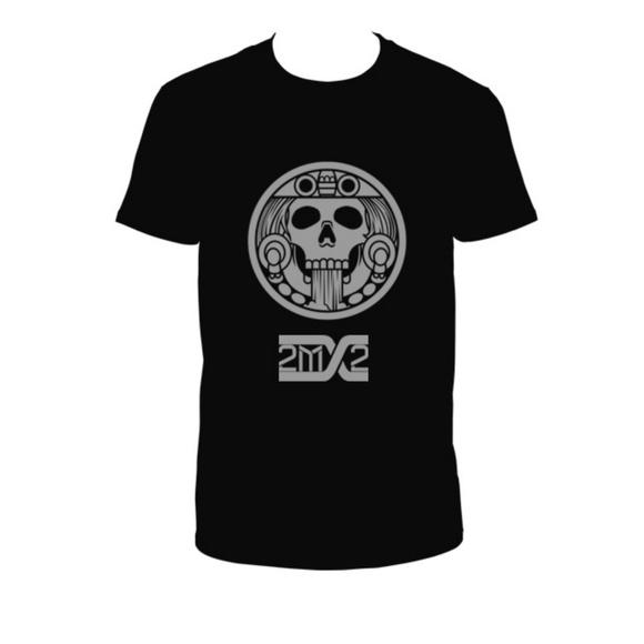 🆕Unisex Aztec Sun T-Shirt Ollin 2MX2 Band Merch